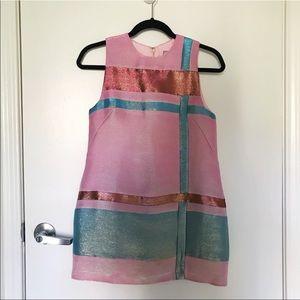 ASOS Pink Metallic Dress